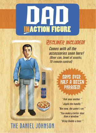 Dad Action Figure - American Greetings - F...