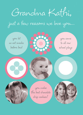 Loving Reasons 5x7 Folded Card