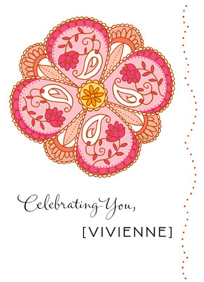 Celebrating You 5x7 Folded Card