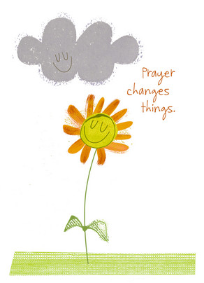 Prayer Changes Things 5x7 Folded Card