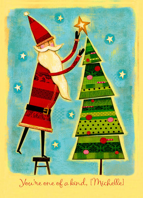 Holiday One of a Kind 5x7 Folded Card