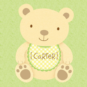 Sweet Baby 4.75x4.75 Folded Card