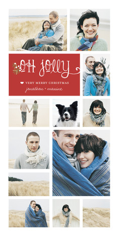 Merry Oh Jolly 4x8 Flat Card