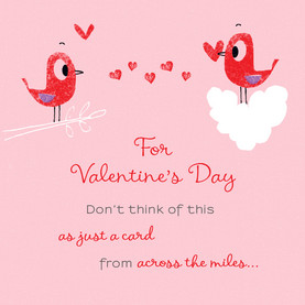 Long Distance Hug Valentine's Day Card | Cardstore