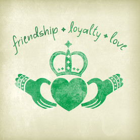 Friendship Loyalty Love 4.75x4.75 Folded Card