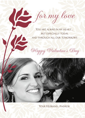 for My Love 5x7 Flat Card