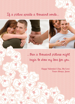 A Thousand Words 5x7 Flat Card
