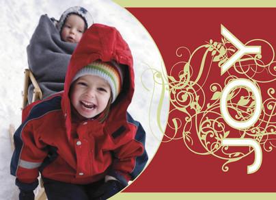 Christmas Joy Postcard 7x5 Postcard