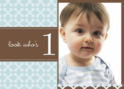 Photo Toddler Birthday 5.25x3.75 Folded Card