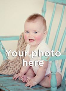 Custom Photo Notecard - Portrait 3.75x5.25 Folded Card