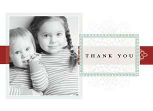 Thanks Plaque 5.25x3.75 Folded Card
