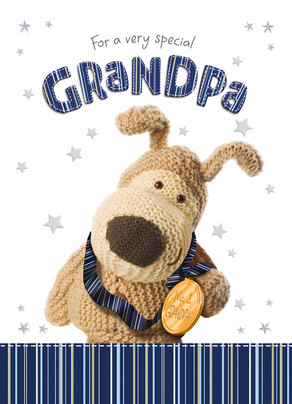 Special Grandpa 5x7 Folded Card