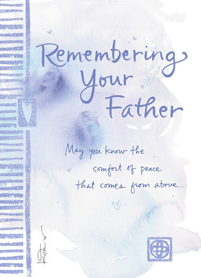 Remembering Your Father 5x7 Folded Card