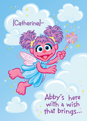 Fairy Abby 5x7 Folded Card
