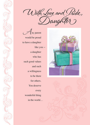 Pastel Presents 5x7 Folded Card