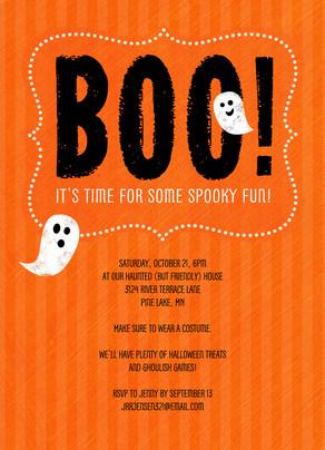 Spooky Fun 5x7 Flat Card