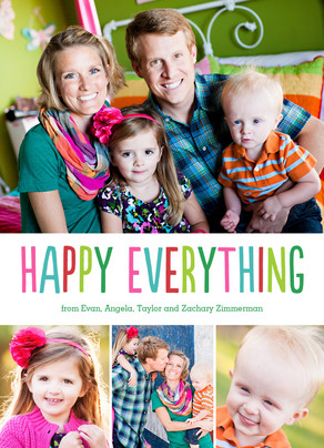 Happy Everything 5x7 Flat Card
