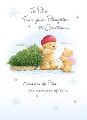 Christmas Memories.Dad Christmas Memories