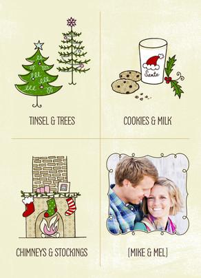 Good Together Christmas 5x7 Folded Card