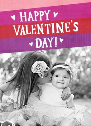 Purple Valentine Shades 5x7 Folded Card