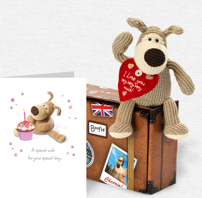Boofle Special Wish Card and Plush 5x7 Folded Card