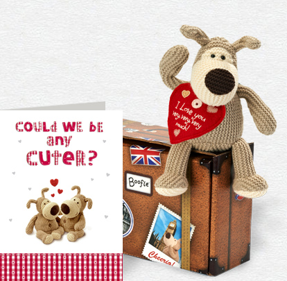Any Cuter Card and Plush 5x7 Folded Card