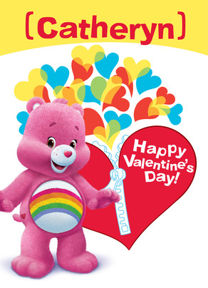 Cheer Valentine Zipper 5x7 Folded Card
