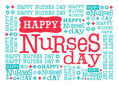 Happy Nurses Day 7x5 Folded Card