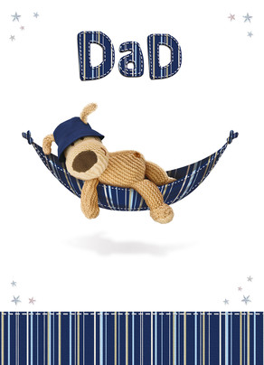 Dad Hammock 5x7 Folded Card