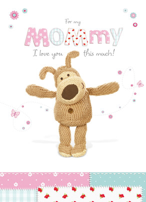 Boofle for Mommy 5x7 Folded Card