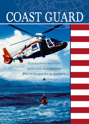 Veteran's Day - Coast Guard 5x7 Folded Card
