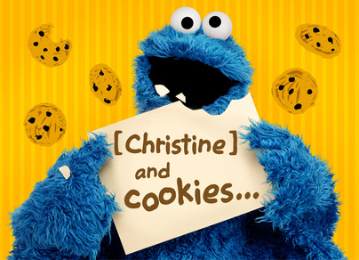 Make and Send Personalized Birthday Cards from Cardstore – Cookie Monster Valentine Cards