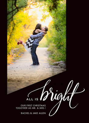 All is Bright 5x7 Flat Card