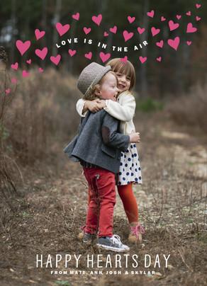 Love Is in the Air 5x7 Flat Card