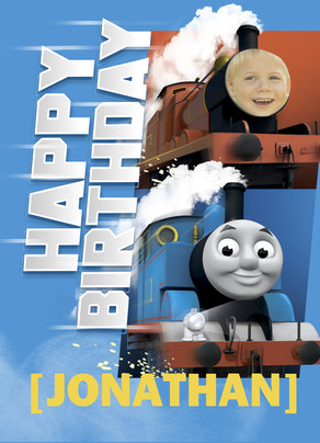 Thomas - Train Friend 5x7 Folded Card
