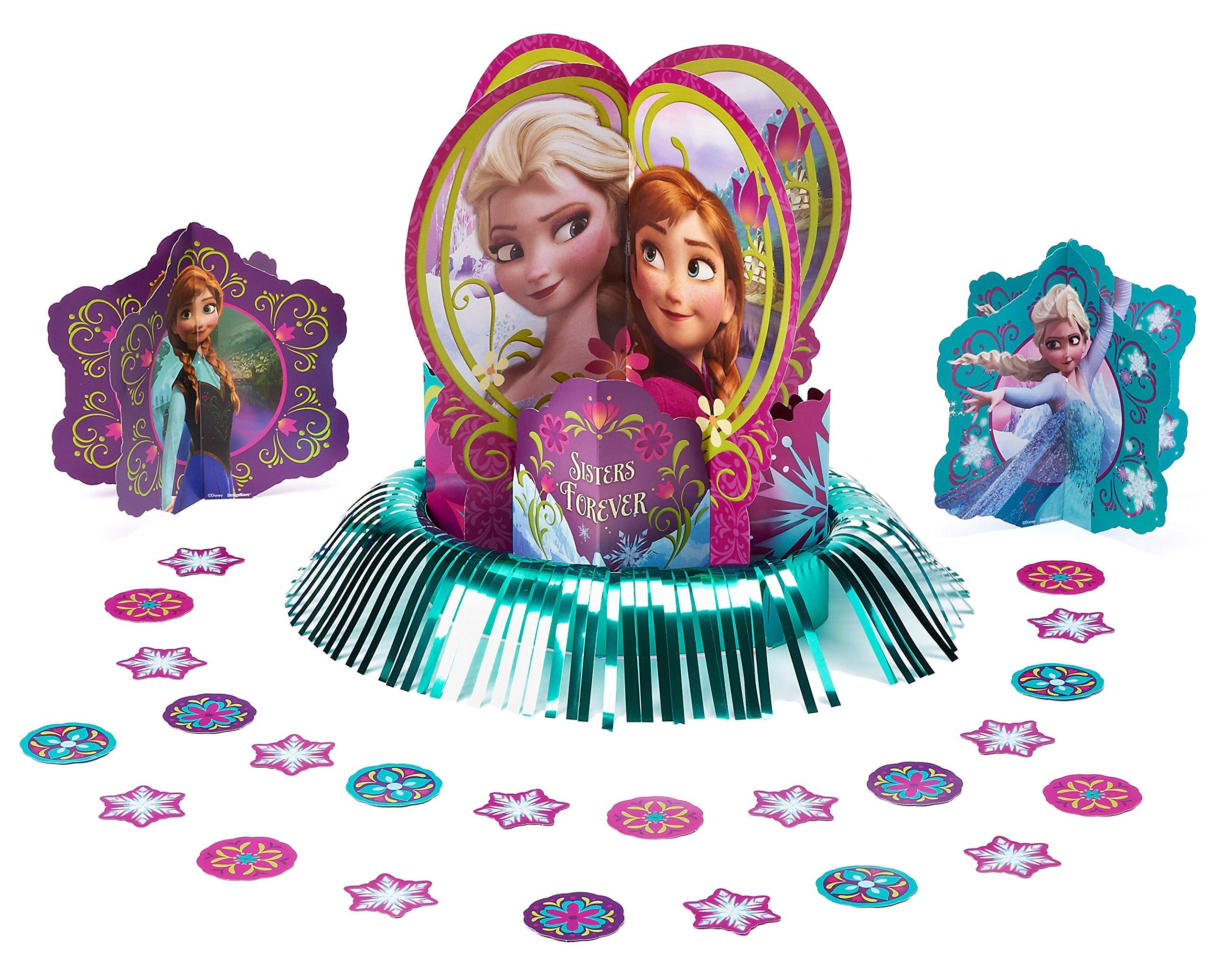 frozen table decoration kit