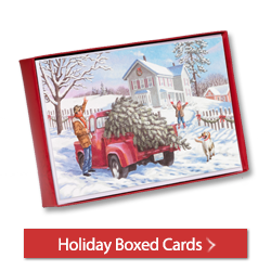 Christmas boxed cards - featured media module #1